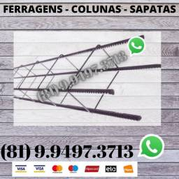 Ferragens , Colunas e Sapatas Direto da Distribuidora 0333347748