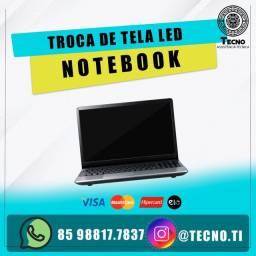 Troca de tela de Led Notebook