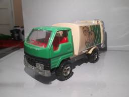 Miniatura caminhão do lixo Majorette 1/35