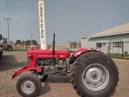 Título do anúncio: Trator Massey Ferguson 65x eixo alto