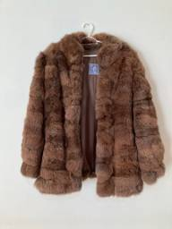 casaco de pele vintage