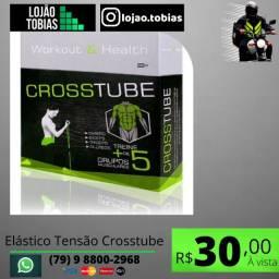 Título do anúncio: Elástico Tensão Crosstube Multifuncional Extensor Muscular