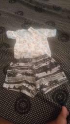 roupa de recém nascido + porta mamadeira