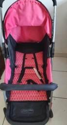 Título do anúncio: Carrinho para bebe berço flip rosa multikids baby
