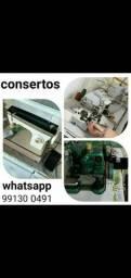 Título do anúncio: Conserto de MÁQUINAS de COSTURA assistência técnica autorizada