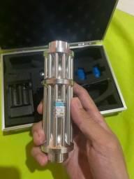 super laser azul