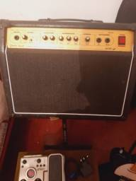 Título do anúncio: Amplificador warm music 208 GT 60w