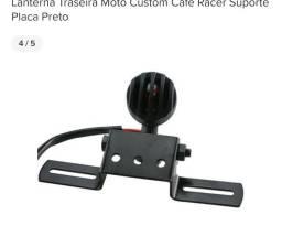 Lanterna traseira para moto café racer scrambler