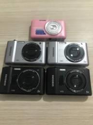 Câmeras digital e filmadora Samsung (Faça sua oferta)