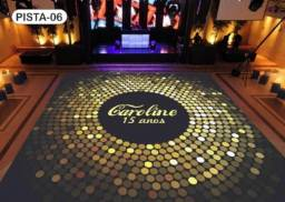 Título do anúncio: Pista de dança chão Dj festa de 15 anos 2,5m x2,5m