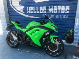 Kawasaki ninja 300 2013 aceito cartão 24x 1.5% Am aceito moto na troca Fin 48 x