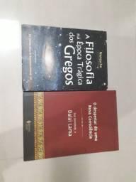 Combo de dois livros de filosofia e budismo