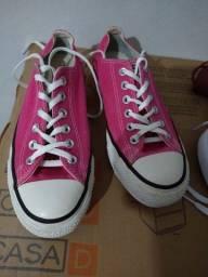 Título do anúncio: All Star Flatform Pink Fluor 37