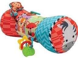 Título do anúncio: Almofada Travesseiro Para Bebe Com Brincadeiras e Mordedor