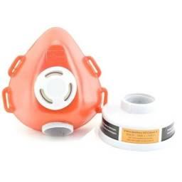 Título do anúncio: Máscara Respirador Facial para 1 Filtro Plastcor