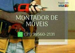 Título do anúncio: Montador de Móveis - 50,00