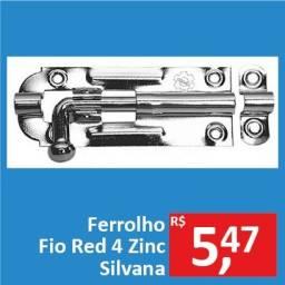 Ferrolho Fio Red 4 Zinc - Silvana - Promoção R$ 5,47