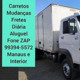 Título do anúncio: Baú FRETES//MUDANÇAS//disponível Manaus Interior