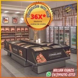 Título do anúncio: Equipamentos para Mercado, Panificadora, Pizzaria, Gula, Comércio, Mercearia Só Novos
