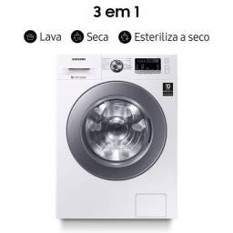 Título do anúncio: Lava e Seca Samsung 3 em 1 WD4000 com Lavagem a Seco 11kg WD11M44733W Branca