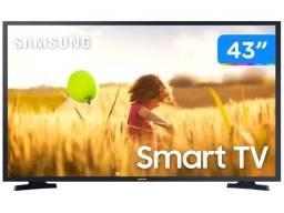 Smart Tv 43 Samsung Un43j5290a Fhd Conversor 2 Hdmi 1 Usb