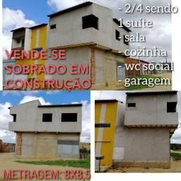 VENDE-SE SOBRADO EM CONSTRUÇÃO