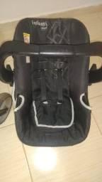 Título do anúncio: Carrinho e bebê conforto Infanti