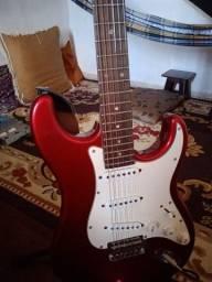 Guitarra Tagima + Pedaleira Vamp