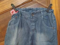 Título do anúncio: Bermuda Jeans tamanho 10 anos