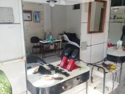 Título do anúncio: Bancada de barbeiro com espelho