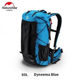 Mochila Naturehike Rock Series 60 l + 5 l Dyneema blue