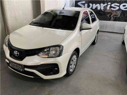 Título do anúncio: Toyota Etios Sedan 1.5 2019 só 12.000 km!