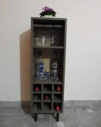 Barzinho adega de vinho