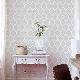 6 rolos de papel de parede autocolante Grudado