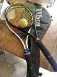 Jogo de raquetes de tênis Wilson e lince bom estado ótimo pra iniciantes