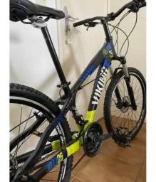 Bicicleta Aro 26 Mtb Vikingx Suspensão Rockshox