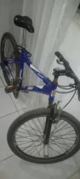 Bicicleta toda alumínio 450$