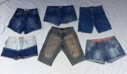 Lote de shorts Tam.40