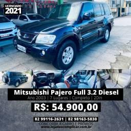 Pajero Full 3.2 Diesel 4x4 (Triunfo Automoveis)