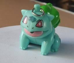 Miniatura Pokémon Bulbasaur Colecionável + Lanterna