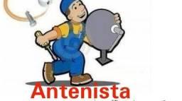Título do anúncio: Instalo antenas!!!