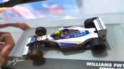 Título do anúncio: Miniatura Senna Willians 1:43 (com Decal Patrocínio)