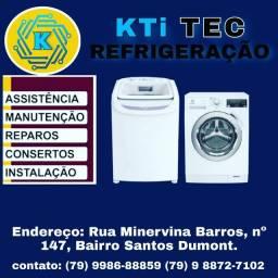 Máquina de lavar, Refrigeração KTi TEC