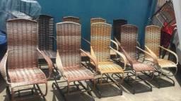 Título do anúncio: Cadeiras de balanço
