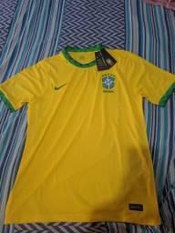 Título do anúncio: Camisa Brasil 2021 G