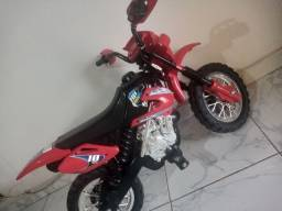Moto Elétrica Infantil (Moto Cross)