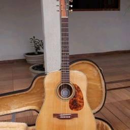 Violão Luthier Ivan Rodrigues D Luxe + Case + Umidificador