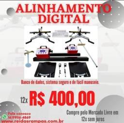 Título do anúncio: Kit alinhamento automotivo digital completo