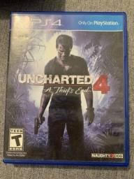 Título do anúncio: Uncharted 4