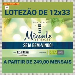 Loteamento Mirante do Iguape... Venha investir ....
